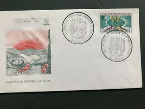 Algeria - 1963 Freedom from Hunger FDC