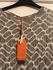 Hugo Boss Grey Dress Size 10