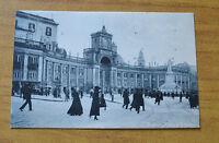 CARTOLINA NAPOLI PIAZZA DANTE VIAGGIATA 1924 SUBALPINA HH