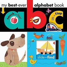 My Best Ever: ABC Alphabet Book by Make Believe Ideas (2013, Board Book)