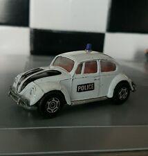 CORGI #373 WHIZZWHEELS VINTAGE EARLY 6 SPOKE VOLKSWAGEN VW 1200 SALOON POLICE