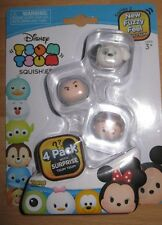 Disney Tsum Tsum 4 Pack Mini Figures Series 2  - Pack picked at random - New