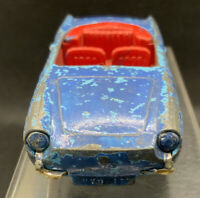 SPOT ON  / TRIANG RENAULT FLORIDE FOR RESTORATION PLAY WORN UNBOXED BLUE