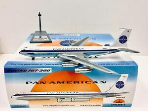 RARE Inflight 200 / Gemini Scale 1:200 Pan Am Boeing 707-300 N880PA IF703PAA1983