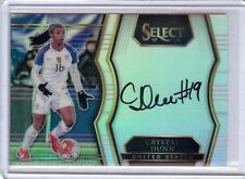 2017 Crystal Dunn Panini Select Soccer Autograph Card SS-CDU  USA Soccer  Auto B