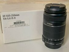 Canon EF-S 55-250 f/4.0-5.6 IS Lens - pro modification to work w/ Speed Booster!