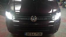 VW T5 Transporter T5.1 Full Monty Headlight DRL etc LED Visual upgrade set