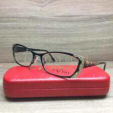 Caviar M1772 1772 Eyeglasses Matte Black Swarovski Crystals C4 Authentic 53mm