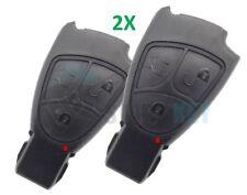 2X Schlüssel Gehäuse 3Tasten W203 W211 W210 W209 W169 W245 Chiave Cle Key CDI