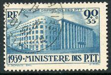 PROMO / TIMBRE FRANCE OBLITERE N° 424 PARIS MINISTERE DES PTT