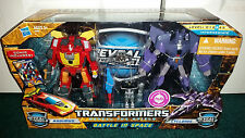 Rodimus + Cyclonus 2-Pack Battle In Space Reveal The Shield Transformers MISP