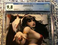 Vampirella #2 CGC 9.8 Kendrick Kunkka Lim Virgin Variant 1 of 500 made Super HOT