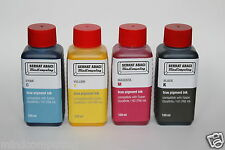 4x 250ml Epson Colorworks TM-C3500 refill true pigment ink SJIC22P CYMK