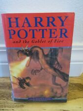 HARRY POTTER AND THE GOBLET OF FIRE Great Britain Bloomsbury Rowling Book