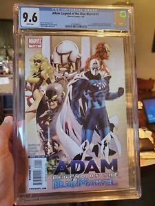 Adam Legend of the Blue Marvel 1 CGC 9.6