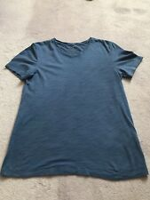 Chemise DKNY Homme T Shirt Bleu Taille XS
