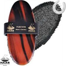 Haas Brush – Parcour Brush – Superior Cleaning – Wood Effect Brush/Leather Strap