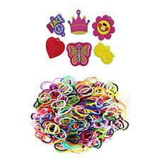 Loom Rhinestone Connector Charms Minnie Mouse Heart Flower Butterfly Peace 600bd