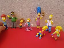 LOTE 8 FIGURA PVC O GOMA FIGURAS LOS SIMPSON FOX 2005 THE Homer, Marge, Bart, Li