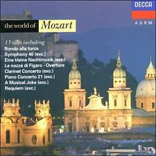 Mozart: World of Mozart Te Kanawa, Solti, Marriner, Schi MUSIC CD