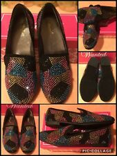 Ladies Wanted Shoes TAHITI Size 9 Multi-Colored Sparkly Beaded Very Good Cond!!