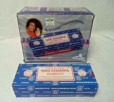 Satya Nag Champa Original Incense Sticks 1000 gram: 250 Gram x 4 Packs, Stick