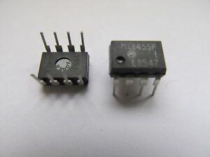 4 Stück - MC1455P1  orig. MOTOROLA DIP8 Timer - 4pcs