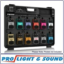 Behringer PB1000 12 Effects Pedal Floor Board with Power Supply