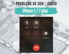 Réparation carte mère iPhone 7/7plus - Probleme de son / audio / micro iPhone 7