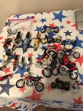 Hugenlot Of 20 Die Cast Motorcycle Repliacs Used All For One Price