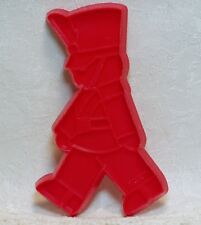 Hallmark Vintage Plastic Cookie Cutter - Toy Soldier Christmas Tin Band Marching