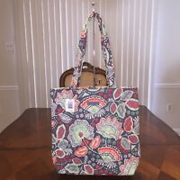NWT Vera Bradley Shoulder Tote Bag In Nomadic Floral