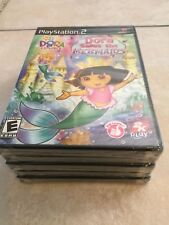 Dora the Explorer: Dora Saves the Mermaids (Sony PlayStation 2, 2008) PS2 NEW