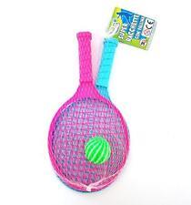 Set 2 Super Racchette Tennis Pallina Gioco Giocattolo Bimbo Bambino moc