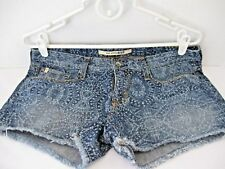 BIG STAR 1974 Denim Acid Wash Short Shorts Women's Size 28