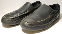 Cole Haan Tucker Venetian Loafer Shoes Men's US 11 W Black Leather Slip On EUC