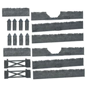 Terrain Crate Battlefield Walls Fantasy Scenery D&D DND Dungeons and Dragons Set