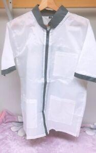Professional Barber Vest Jacket White Color,Ultra Lightweight White Color