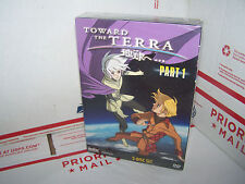 Toward the Terra Part 1 (Vol 1-2) DVD - 2 DISC SET - NEW & SEALED - BANDAI