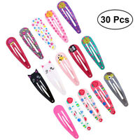 30PCS Mädchen Haarklammern Haarspangen Haarclips Kinder Damen Haarschmuck Set DE