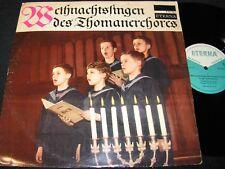 THOMANERCHOR Weihnachtssingen - GÜNTHER RAMIN/ DDR Reissue LP 1967 ETERNA 820361