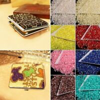 2000pcs Wholesale Half Round Crystal  Rhinestone Flatback Beads 3mm AB Color SL
