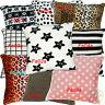 Fa Print Pattern Dot Checker Soft Fleece Cushion Cover/Pillow Case Custom Size