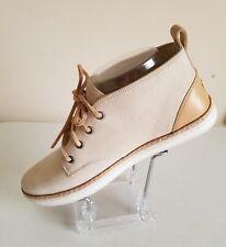 Ugg Australia Kallisto Nubuck Leather Ceramic Beige Sneakers Anckle Boot Size 7