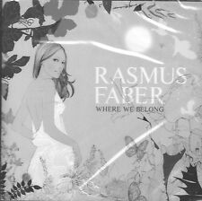 Where We Belong by Rasmus Faber (CD, Farplane) Swedish DJ/House/Latin/Pop/Sealed
