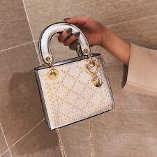 Brand New Metallic Pink Gold Studded Mini Handbag Crossbody New Bag