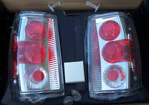 New IPCW Clear Euro Tail Lights CWT-CE506BC for 2001-2005 Ford Ranger Pickups