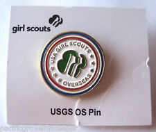 Girl Scout GSUSA OVERSEAS PIN International Country Committee Troop Member NEW