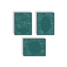 Sizzix Tim Holtz Texture Fades Alterations Embossing Diffuser Set 1 3pk 657945