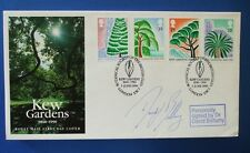 Royal mail 1990 Kew Gardens FDC signé par David Bellamy: no 29/30 fait seulement